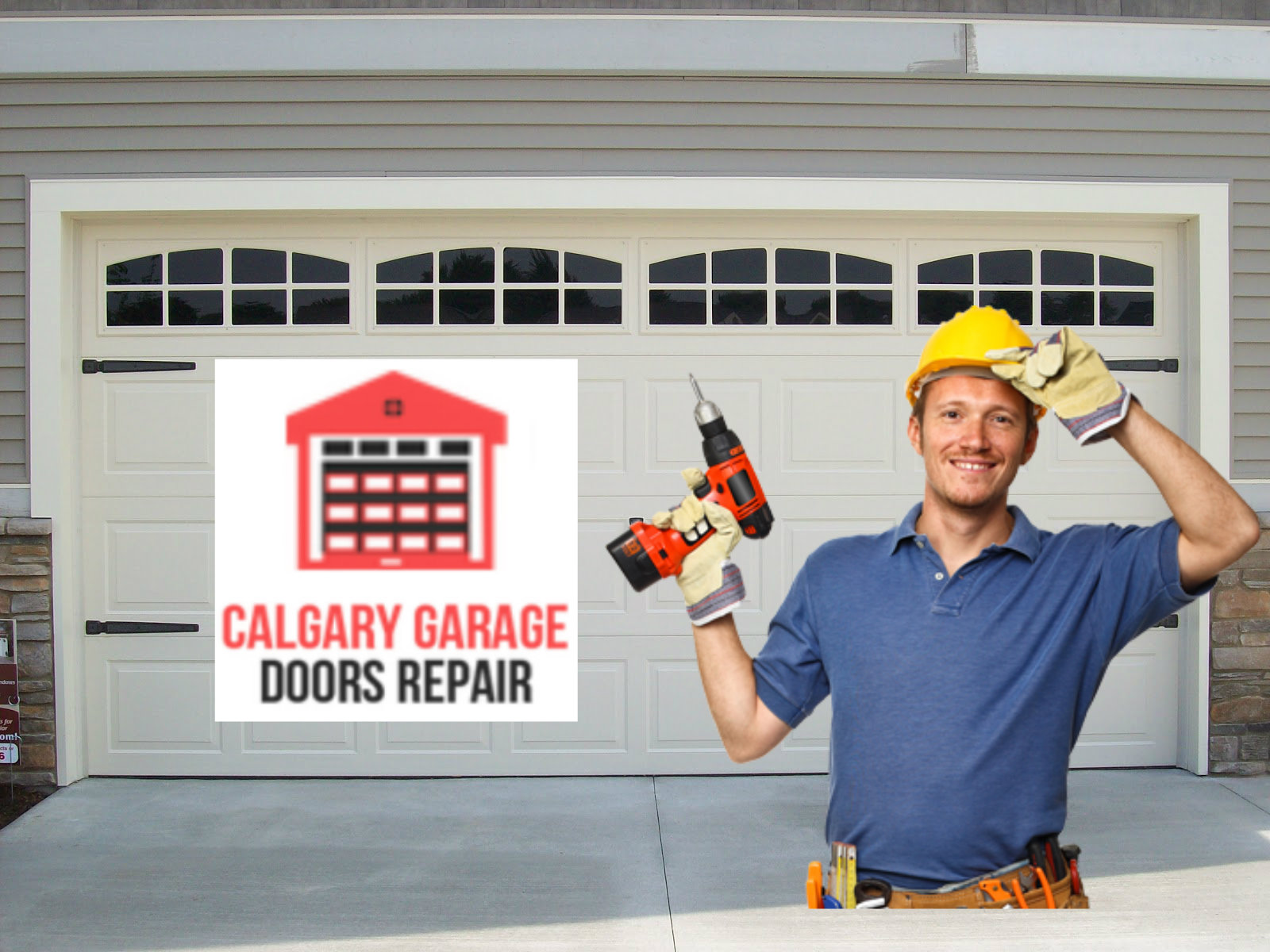garage door repairs calgary 5 common garage door myths